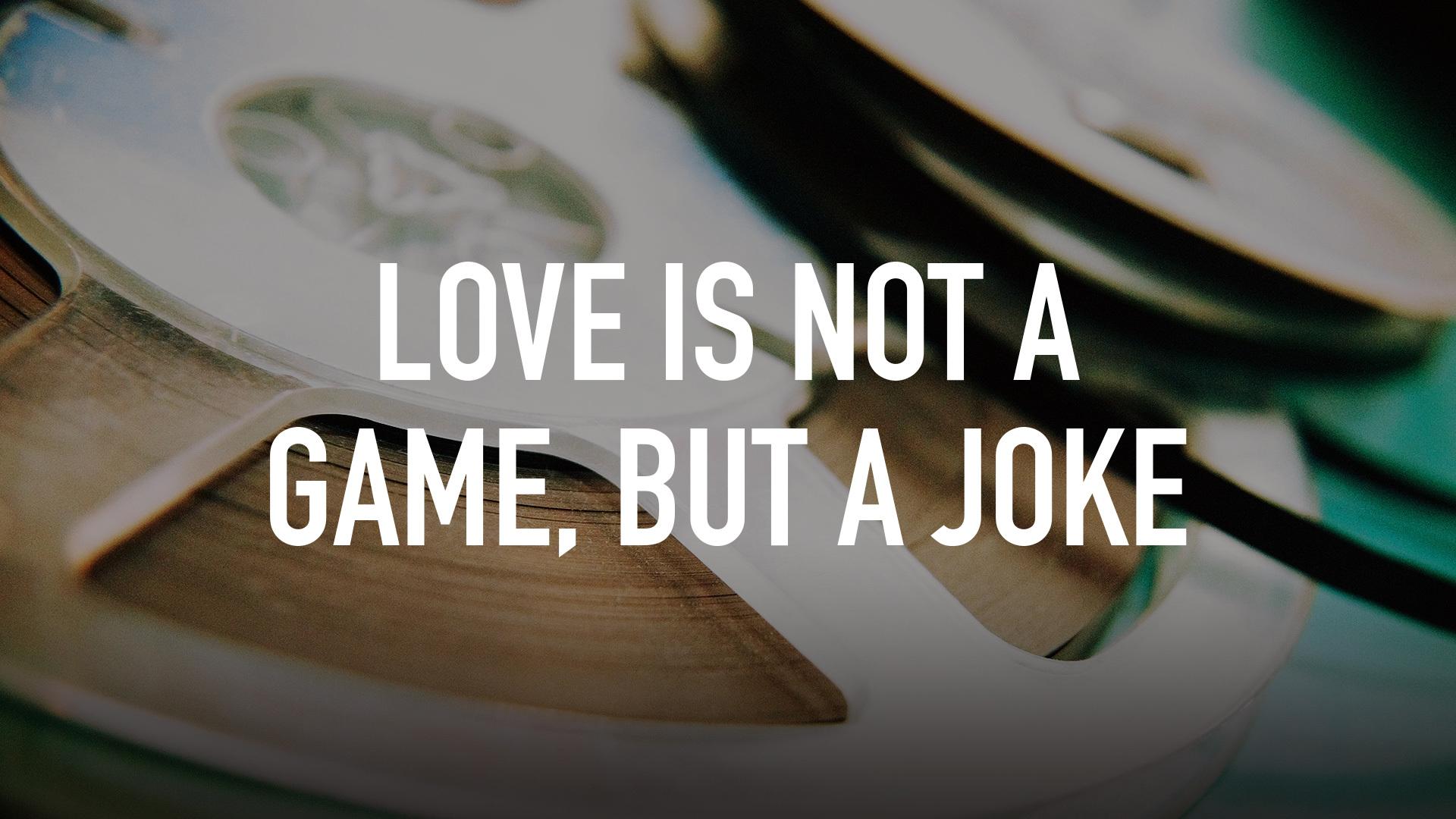 glume despre iubire