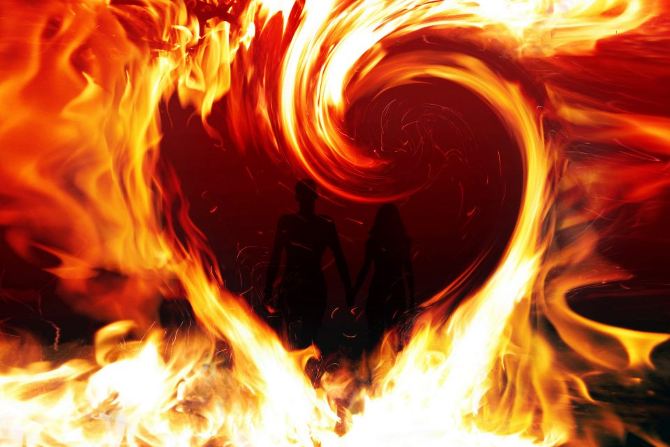 flacăra iubirii
